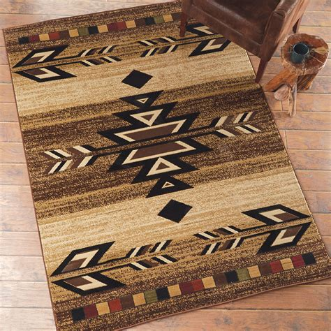 Western Bathroom Rugs Southwest Rugs Santa Fe Trail Rug Collection Lone Western Decor