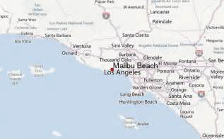 malibu california on map malibu location guide