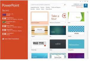 interface powerpoint 2013 for windows