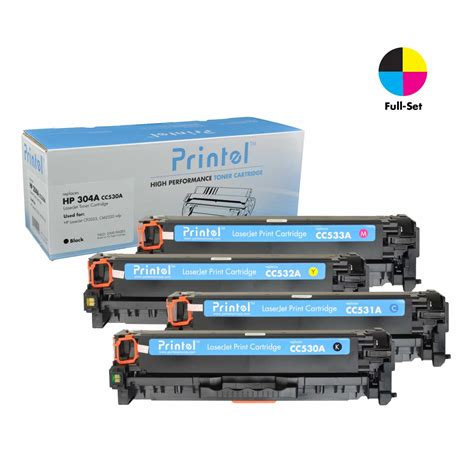 hp color laserjet cp2025 toner printel 174 brand new replacement toner cartridge for hp