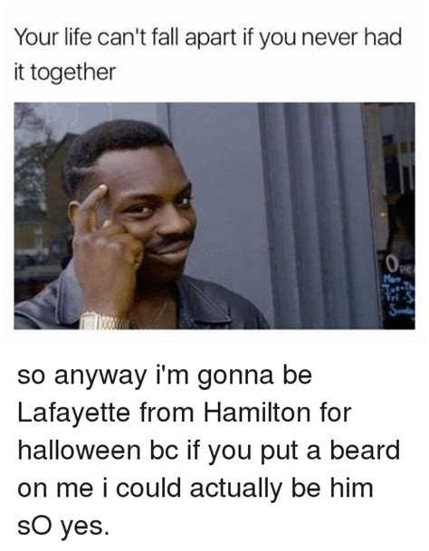 Hamilton Memes - funny falling apart memes of 2017 on sizzle life is