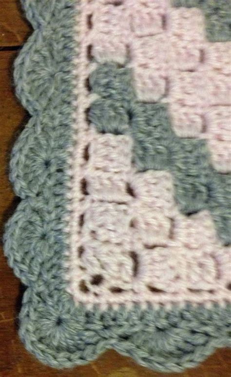 Crochet Edges On Blankets by How To Add A Border To Corner 2 Corner Afghan Crochet