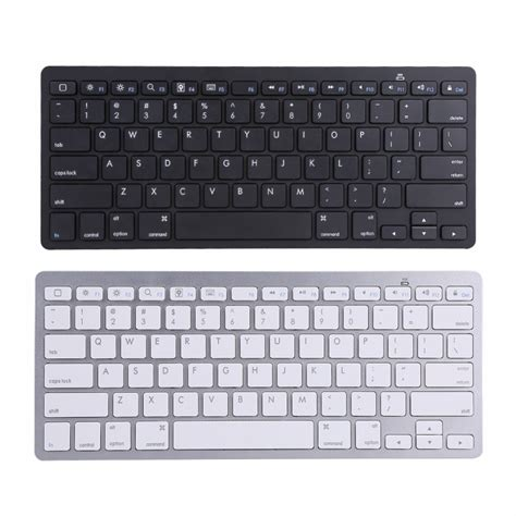 ios keyboard for android bluetooth wireless keyboard keypad ultra slim for android ios pc laptop in keyboards from