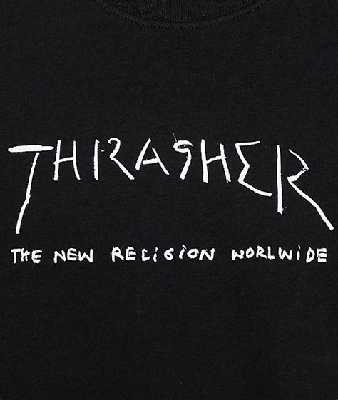 T Shirt Thrasher New thrasher new religion t shirt zumiez