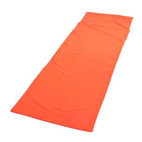 Tent Mat by Sleeping Bag Liner Travel Sleep Sack Sheet Hiking Cing
