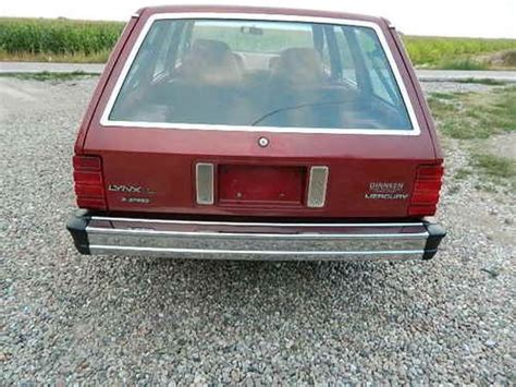 auto air conditioning service 1984 mercury lynx parking system sell used 1984 mercury lynx wagon diesel dry western car same as ford escort in mitchell