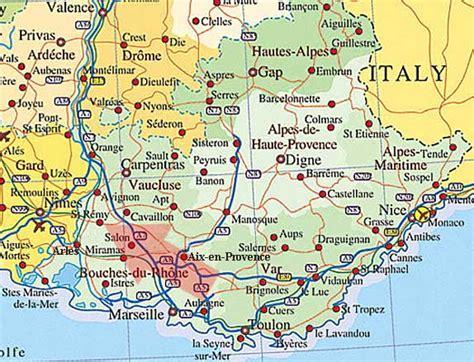 provence map provence 07