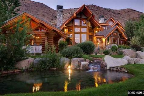 log cabin luxury homes we love this luxury log home cabin fever pinterest