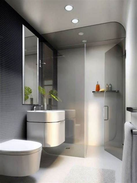 awesome small modern bathroom designs shower indoor