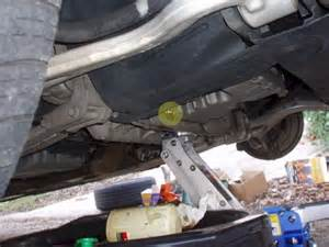 lincoln ls questions where are transmission drain
