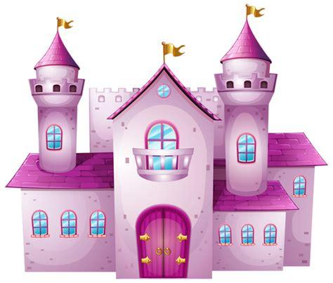 Pink Castle Clipart pink castle png clip image prince princesses clip
