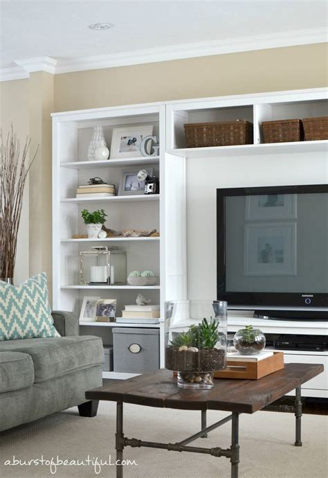 Living Room With Shelves - 17 ideas about living room shelving on living