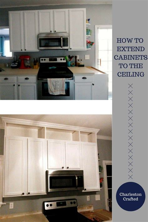 How To Extend Kitchen Cabinets To Ceiling by 25 Best Ideas About Cabinets To Ceiling On White Shaker Kitchen Cabinets