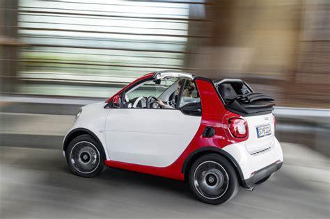 smart car cabriolet smart fortwo cabriolet unveiled through photos