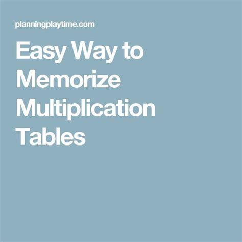 to memorize multiplication tables 1000 images about education on earth day