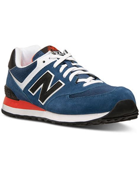 macys mens sneakers new balance s 574 casual sneakers from finish line