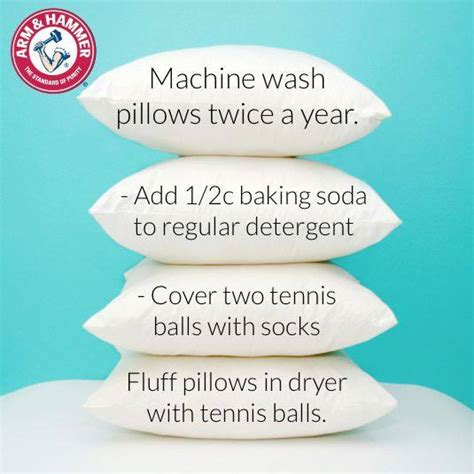 How To Clean A Pillow by How To Wash Your Pillows Home Decorating Diy