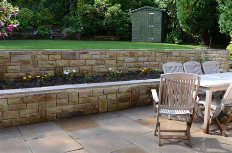 patio bed patio walling garden steps harrogate pro