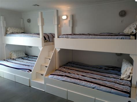 belmar adult bunk beds quad bunkbeds  adults