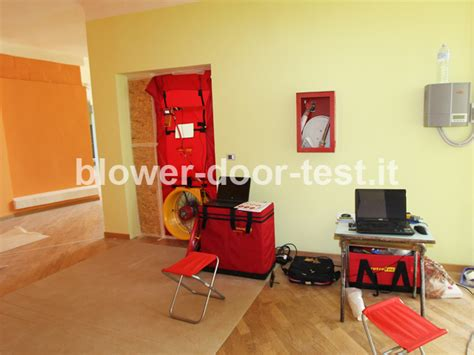 blower door test procedure blower door test scuola elementare