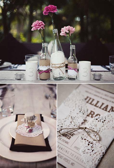 11 usos de las blondas en tu boda decora tu boda con blondas de papel doilies in weddings