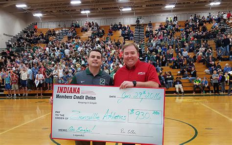 Forum Credit Union Zionsville Indiana Members Credit Union Presents 930 To Zionsville Community High School Athletics