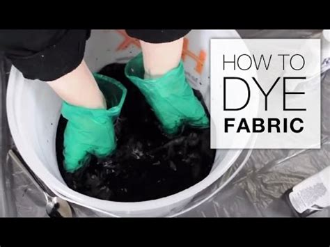 How To Dye Upholstery how to dye fabric immersion dye technique tutorial