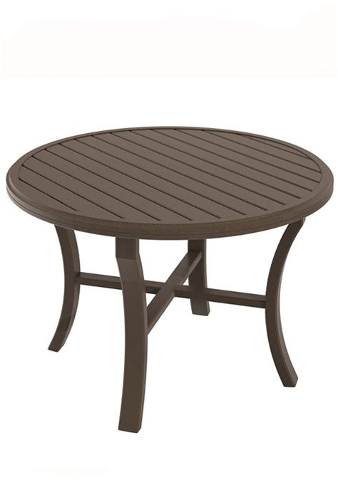 30 round dining table banchetto slat dinette patio