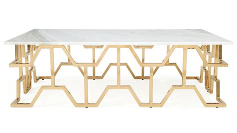 marble gold coffee table modern gold and marble coffee table zuri
