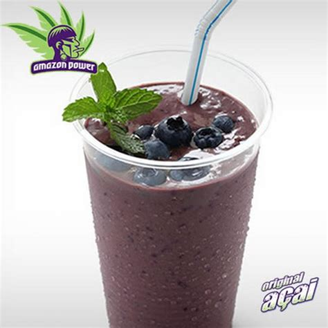 Manggo Smoothies Slime 100gr acai green smoothie with mango kale and spinach power