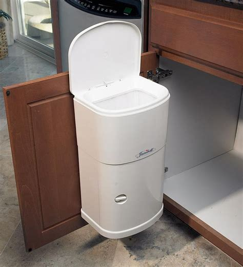 sink trash can with lid cabinet trash can with automatic lid organize