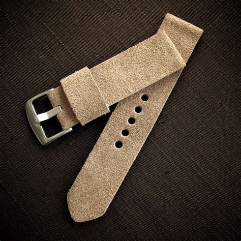 Handmade Leather Straps - handmade suede leather straps soletopia