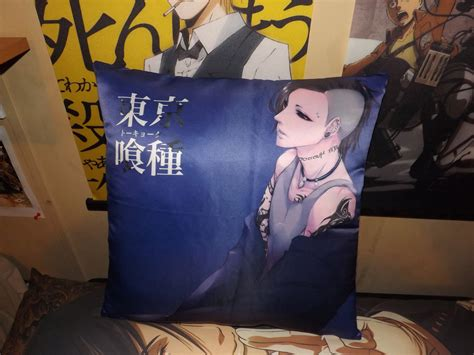 tokyo ghoul uta pillow by oppafaustusstyle on deviantart