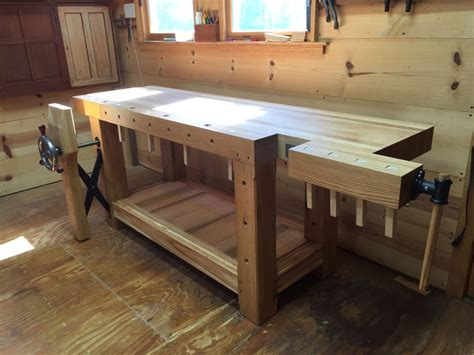 roubo workbench finewoodworking