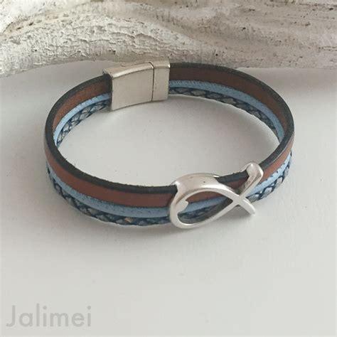 Kommunion Armband by Jalimei Armband Fisch Konfirmation Cognac