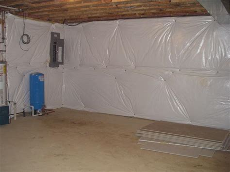 insulating concrete basement walls spray foam insulation basement insulation