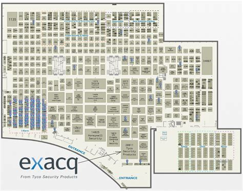 isc west floor plan tradeshow