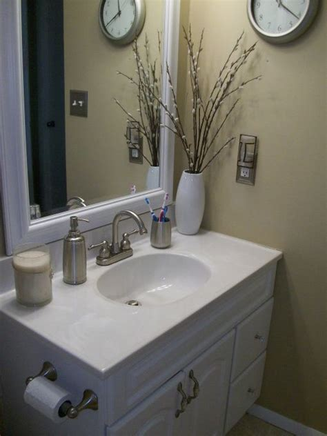 Simply Shabby Chic Bathroom Accessories Simply Shabby Chic Bathroom Makeover This Is My Bathroom Done On A Budget For My Rental Home