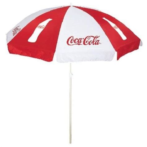 Coca Cola Patio Umbrella Coca Cola Coke Umbrella New Ebay