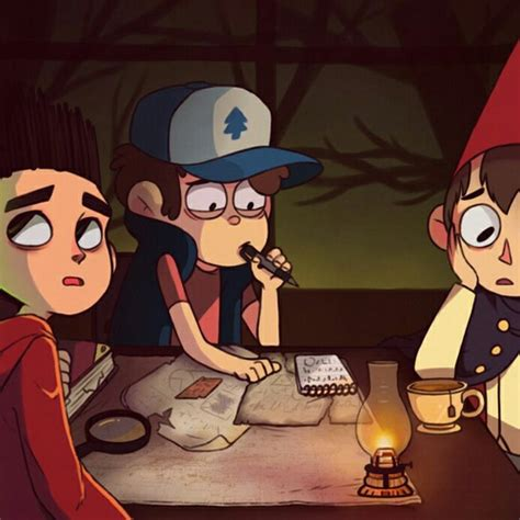 Norman The Garden Wall Wirt Dipper And Norman We It Paranorman Wirt