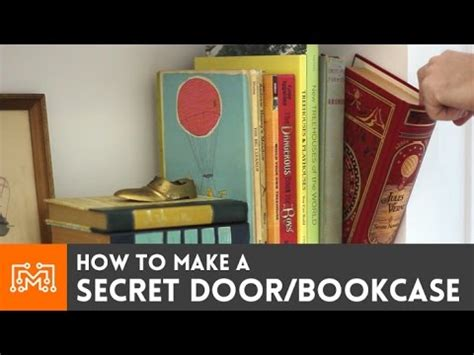 how to make a secret door bookcase the easy way 3
