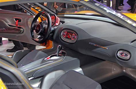Kia Gt4 Stinger Interior Kia Gt4 Stinger Concept Is A Korean Toyobaru Live