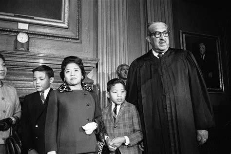 american supreme 46 years ago thurgood marshall sworn in becoming