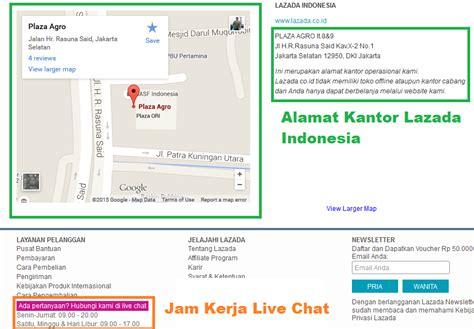 email lazada indonesia cara menyaikan keluhan komplain di lazada co id cek