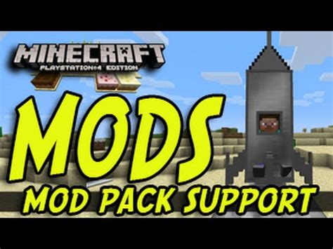 Mod In Minecraft Ps4 | minecraft ps3 ps4 xbox mods mod support news