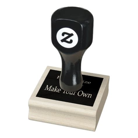 create own rubber st design your own personalized rubber st zazzle