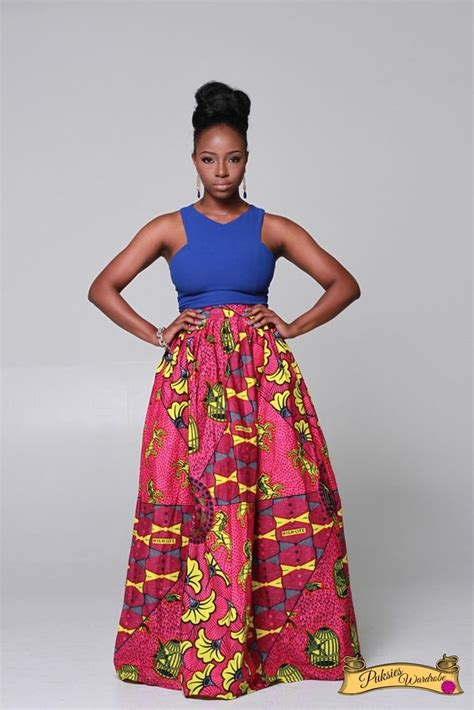 african kitenge freshest design simi patch maxi skirt african fashion ankara kitenge