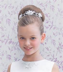 hairstyles for communion the bun the graceful and elegant communion hairstyle for