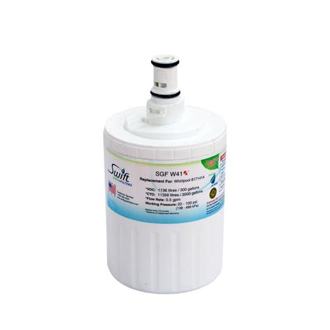 Water Filters At Home Depot by Green Filters Whirlpool 8171414 Compatible Refrigerator Water Filter Sgf W41 Rx The Home