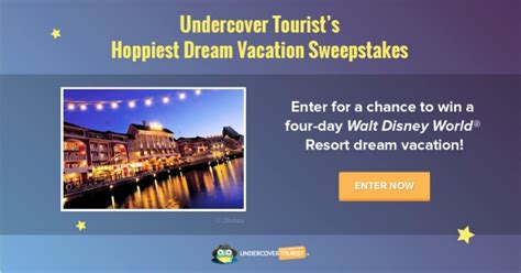 Disney World Sweepstakes 2016 - disney world vacation planning with undercover tourist huge disney vacation giveaway